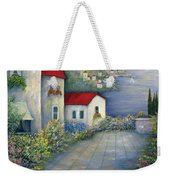 Sea Terrace Weekender Tote Bag