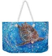 Sea Turtle Mr. Longevity Weekender Tote Bag