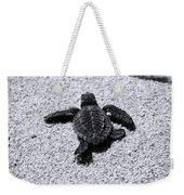 Sea Turtle Weekender Tote Bag by Sebastian Musial