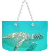 Sea Turtle Time Weekender Tote Bag