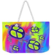 Sea Turtles Swimming  Weekender Tote Bag