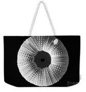 Sea Urchin In Black And White Weekender Tote Bag