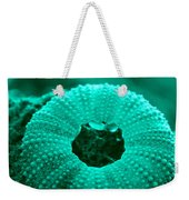Sea Urshin Blue Weekender Tote Bag