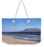 Sea With Table Mountain Weekender Tote Bag