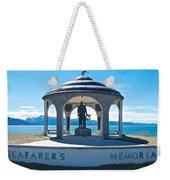 Seafarer's Memorial On Homer Spit-ak Weekender Tote Bag