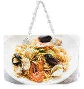 Seafood Pasta Dish Weekender Tote Bag