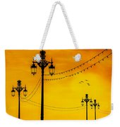 Seafront Sunset Weekender Tote Bag
