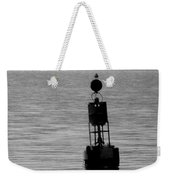Seagull And Buoy Weekender Tote Bag