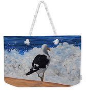 Seagull And Surf Weekender Tote Bag