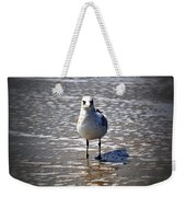 Seagull At Low Tide Weekender Tote Bag