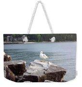 Seagull Awaits Weekender Tote Bag