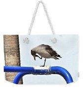 Seagull Balancing Act Weekender Tote Bag