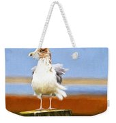 Seagull Colors Weekender Tote Bag