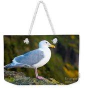 Seagull Heceta Head - Oregon Weekender Tote Bag