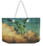 Seagull In The Clouds Weekender Tote Bag