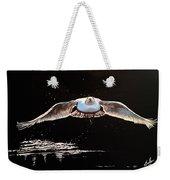Seagull In The Moonlight Weekender Tote Bag