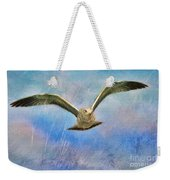 Seagull In The Storm Weekender Tote Bag