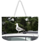 Seagull On Car Weekender Tote Bag