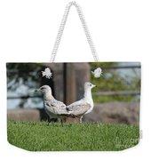 Seagull Opposites Weekender Tote Bag