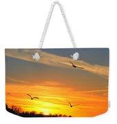 Seagull Serenity Weekender Tote Bag