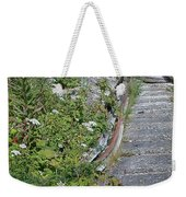 Seagull Steps Guard Island Alaska Weekender Tote Bag