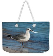 Seagull With Fish 1 Weekender Tote Bag