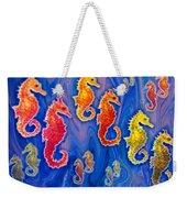 Seahorse March Weekender Tote Bag