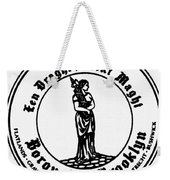 Seal Of Brooklyn Weekender Tote Bag