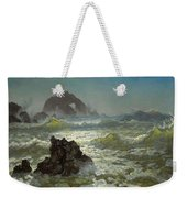 Seal Rock California Weekender Tote Bag