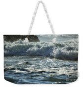 Seal Surfing Waves Weekender Tote Bag