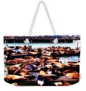 Seal Wharf Weekender Tote Bag