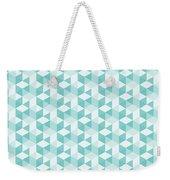 Seamless Pixel Pattern  Weekender Tote Bag