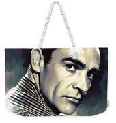 Sean Connery Artwork Weekender Tote Bag