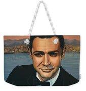 Sean Connery As James Bond Weekender Tote Bag
