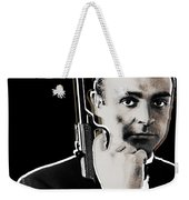 Sean Connery James Bond Square Weekender Tote Bag