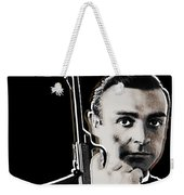 Sean Connery James Bond Vertical Weekender Tote Bag