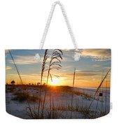 Seaoats Sunrise Weekender Tote Bag