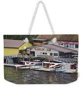 Seaplane Parking Weekender Tote Bag