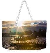 Seaplane Sunset Weekender Tote Bag