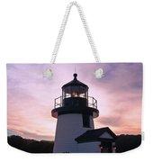 Seaport Nightlight Weekender Tote Bag