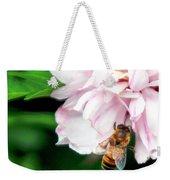 Searching Pink Flower Weekender Tote Bag