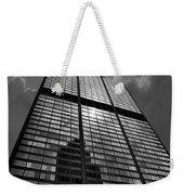 Sears Willis Tower Black And White 02 Weekender Tote Bag