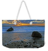 Seascape At Marthas Vineyard Weekender Tote Bag