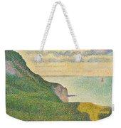 Seascape At Port En Bessin Normandy Weekender Tote Bag