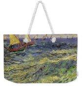 Seascape At Saintes-maries 1888 Weekender Tote Bag