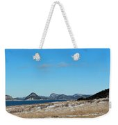 Seascape - Panorama Weekender Tote Bag by Barbara Griffin