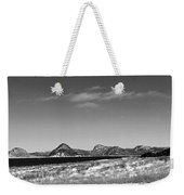 Seascape - Panorama - Black And White Weekender Tote Bag