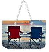 Seascape Serenity Weekender Tote Bag