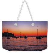 Seascape Silhouette Weekender Tote Bag