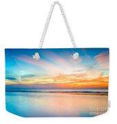 Seascape Sunset Weekender Tote Bag by Adrian Evans